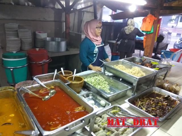 Kerabu Fauzi Sarapan Sedap Kuala Terengganu