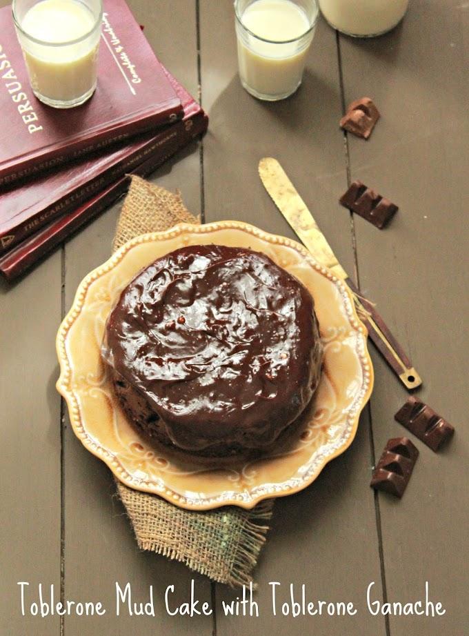 Baking | Toblerone Mud Cake with Toblerone Ganache