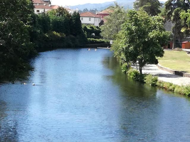 Canoagem no Rio Vez