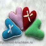 patron gratis corazon amigurumi | free pattern amigurumi heart