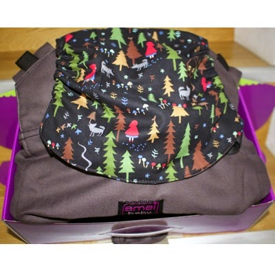 Emeibaby Hybrid Soft Structured Carrier (SSC) - Full Coco with Woods Hood