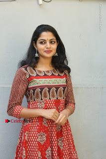 Telugu Actress Nikhila Vimal Latest Stills in Anarkali Dress  0073.JPG