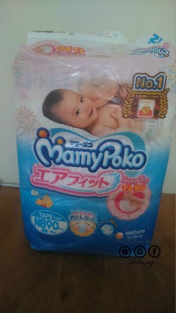 review Mamypoko Air Fit Newborn