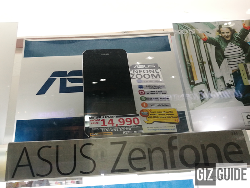Asus ZenFone Zoom Is Now Priced At Just PHP 14990!