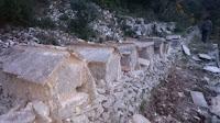 Rekonstrukcija kamenih košnica Dol slike otok Brač Online