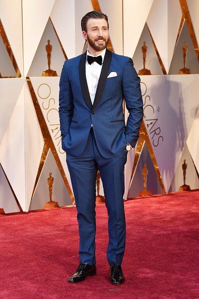 Chris Evans Oscars 2017