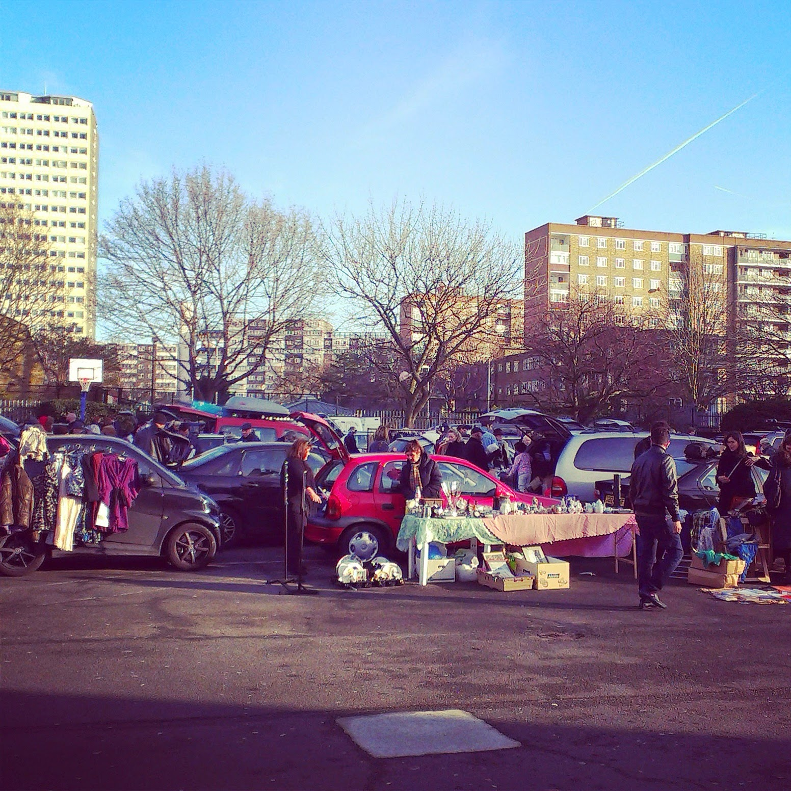 12pm - Battersea Boot Sale