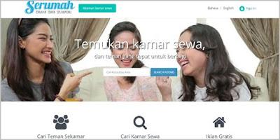 Serumah.com, Website Mencari Teman Sewa Rumah Pertama Di Indonesia