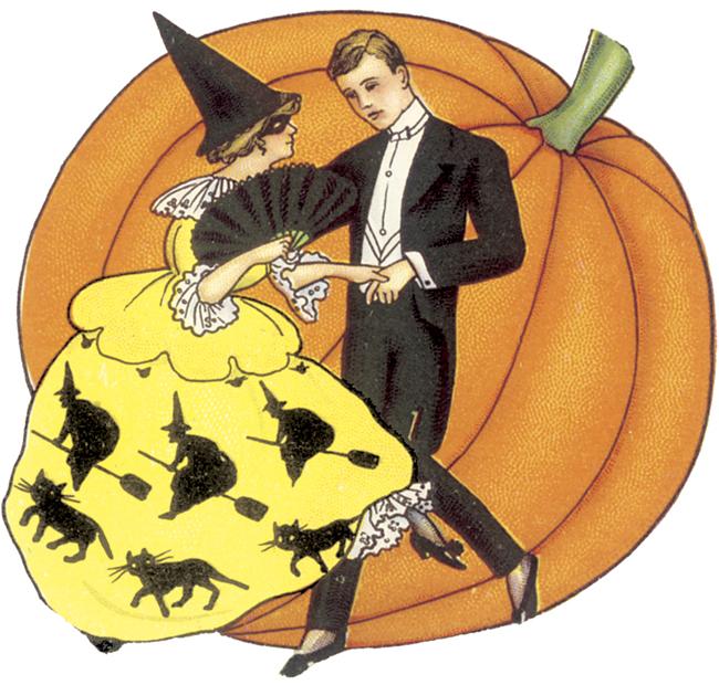 halloween clip art free vintage - photo #12