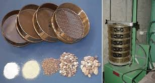 sieve analysis of aggregate A sieve analysis, or gradation test determines the distribution of aggregate particles by size within a given sample this information can then be used to determine compliance with design and production requirements data can also be used to better understand the relationship between aggregates or.