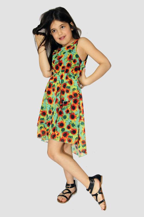 Moda para niñas vestidos primavera verano 2018.