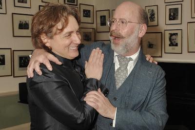 Ivan Magri and Ian Rosenblatt after Ivan Magri's Rosenblatt Recital at the Wigmore Hall (Photo Jonathan Rose)
