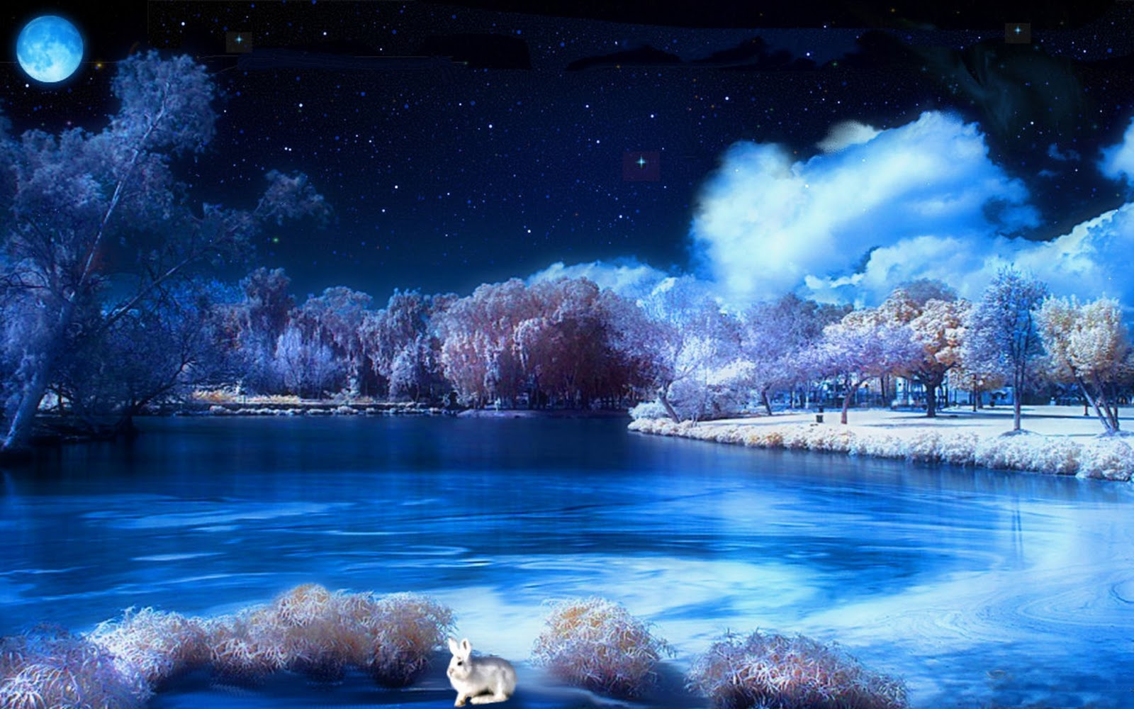3d winter scenes wallpaper - photo #27