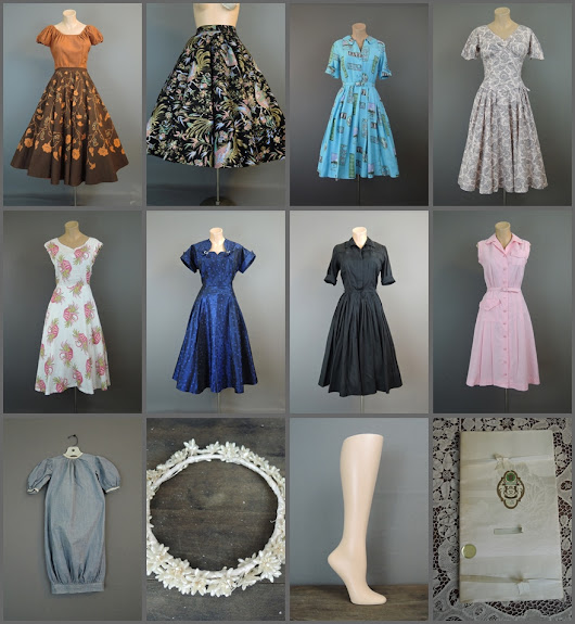 Dresses, Linens and more in the etsy shop!