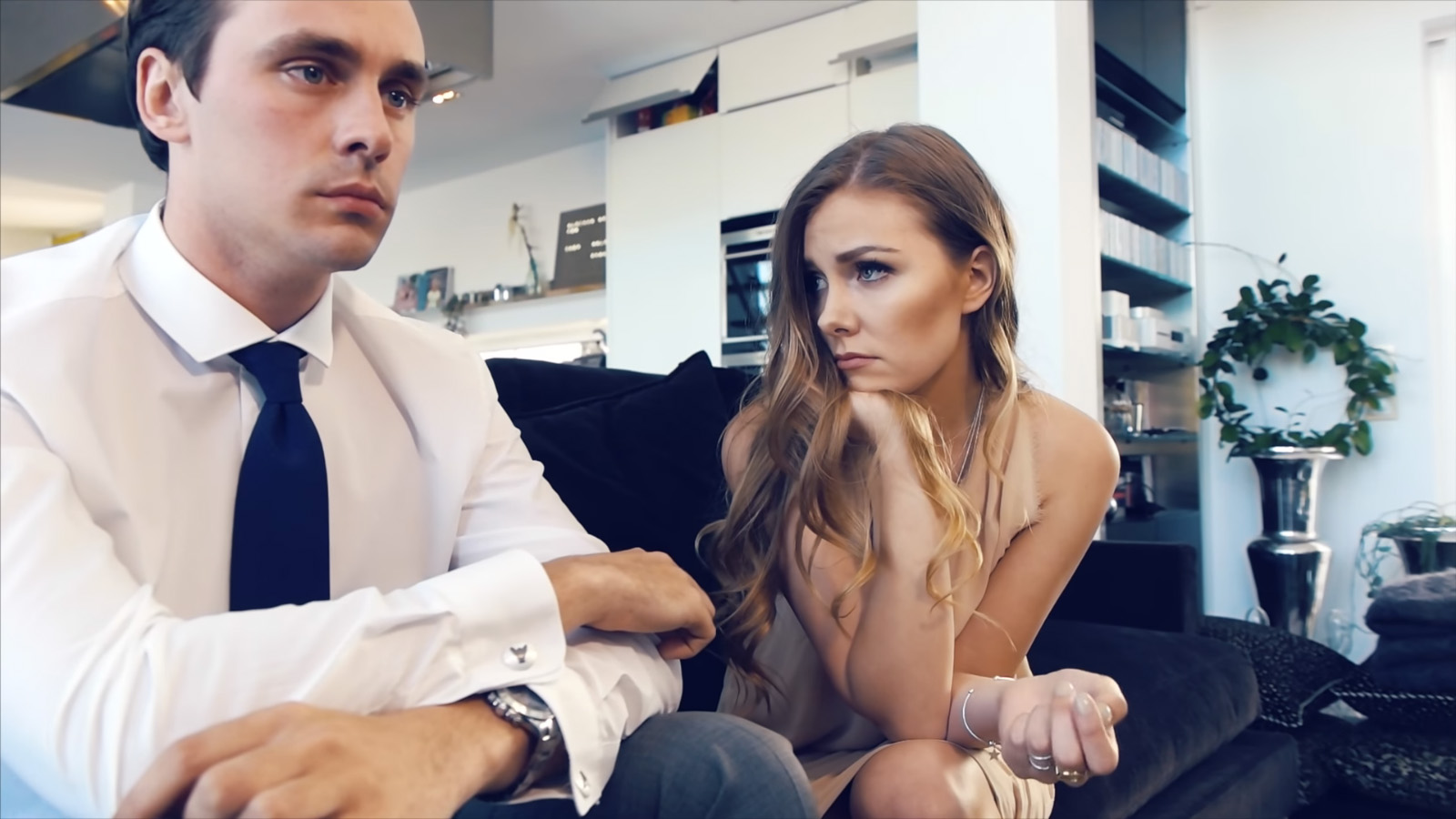 Adult gallery dress strip video