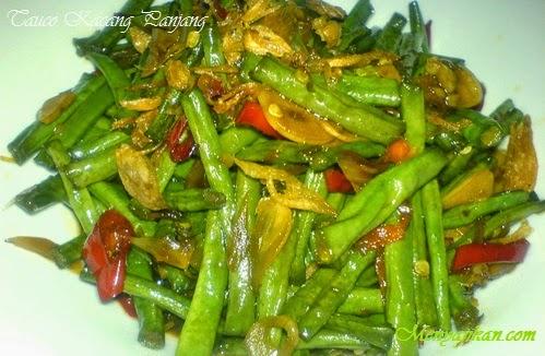 Resep Tumis Kacang Panjang Tauco