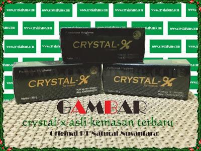 manfaat crystal x dan efek sampingya