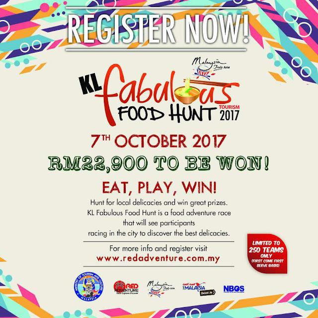 Kuala Lumpur Fabulous Food Hunt 2017