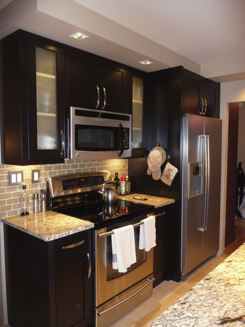 30 Modern Brown Chocolate Painting Kitchen Cabinets - Decor Units