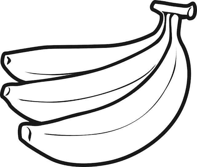 bananas para pintar