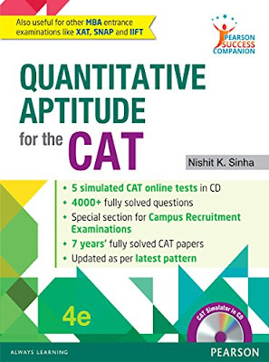Free Download Quantitative Aptitude for CAT by Nishit Sinha PDF