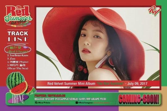 The Red Summer Daftar Lagu Red Velvet