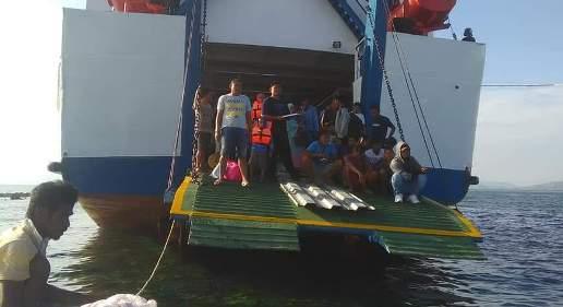 KMP. Sanke Pallangga, Tabrak Pulau Karang Marpokot di Perairan NTT