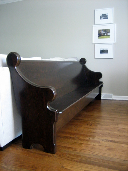 Decorating With A Pew Before & After DIY Playbook