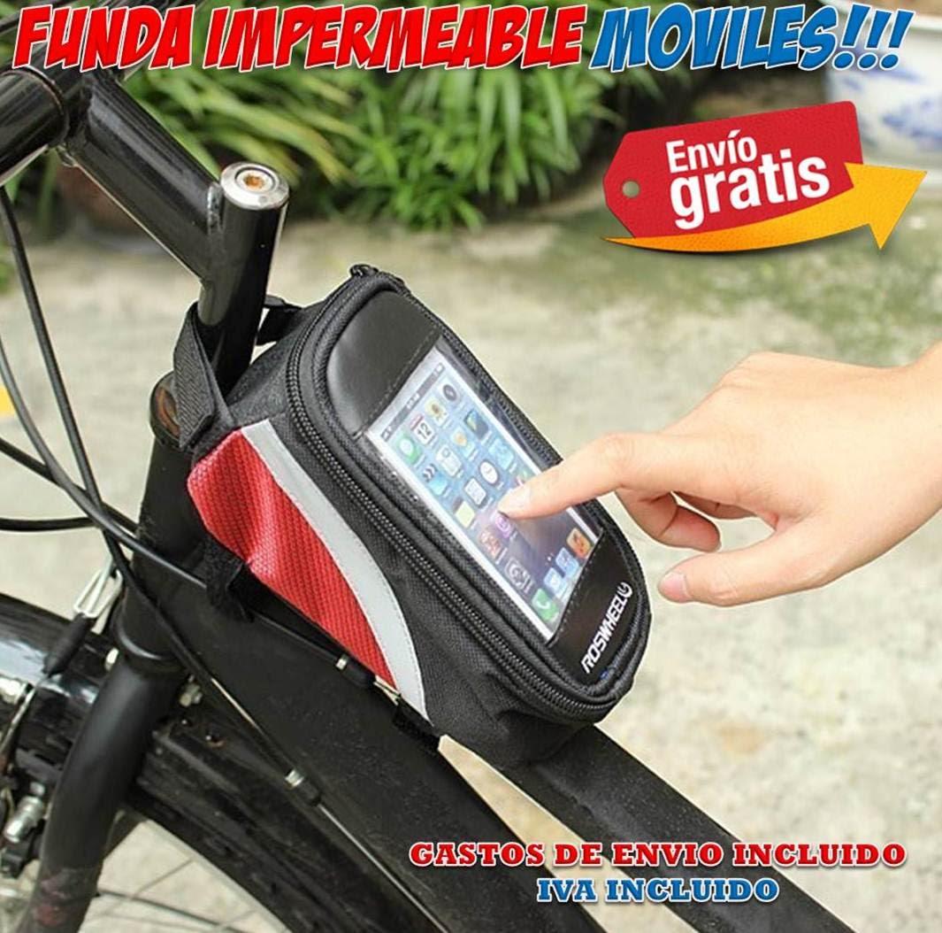 Fundas móviles para bicicletas