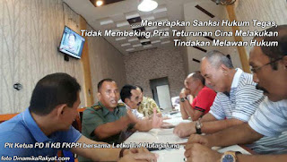 Merasa Punya Beking Pria Keturunan Cina Nempeleng Anggota TNI, FKPI : INI PELECAHAN - Commando