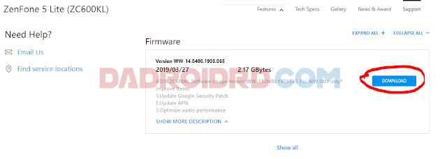 Setelah sebelumnya kalian telah berhasil melakukan Unlock Bootloader Cara ROOT Asus Zenfone 5Q/Lite ZC600KL (X017D) Tanpa TWRP