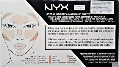 Nyx Highlight & Contour Profesionalna Paleta