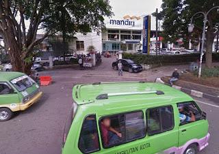 Lokasi ATM MANDIRI Setor Tunai (CDM) BOGOR - JABAR