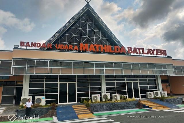 Bandara Mathilda Batlayeri, Bandara Saumlaki