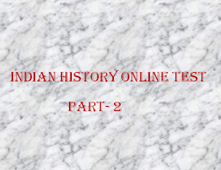 Indian History General Knowledge Online Test in Bengali | Part- 2