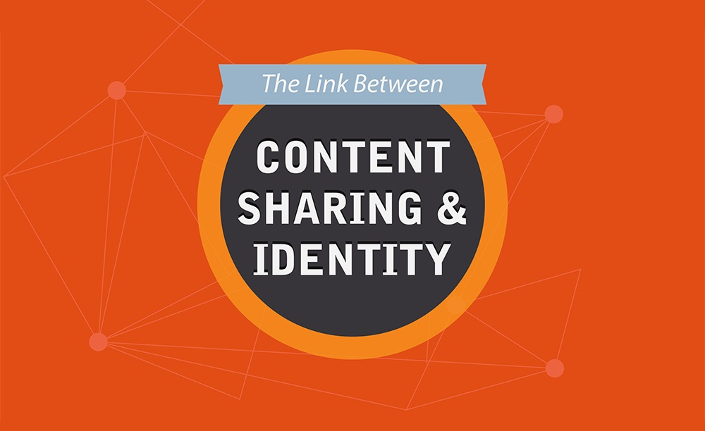 The Link Between Identity And Social Content Sharing - #infographic