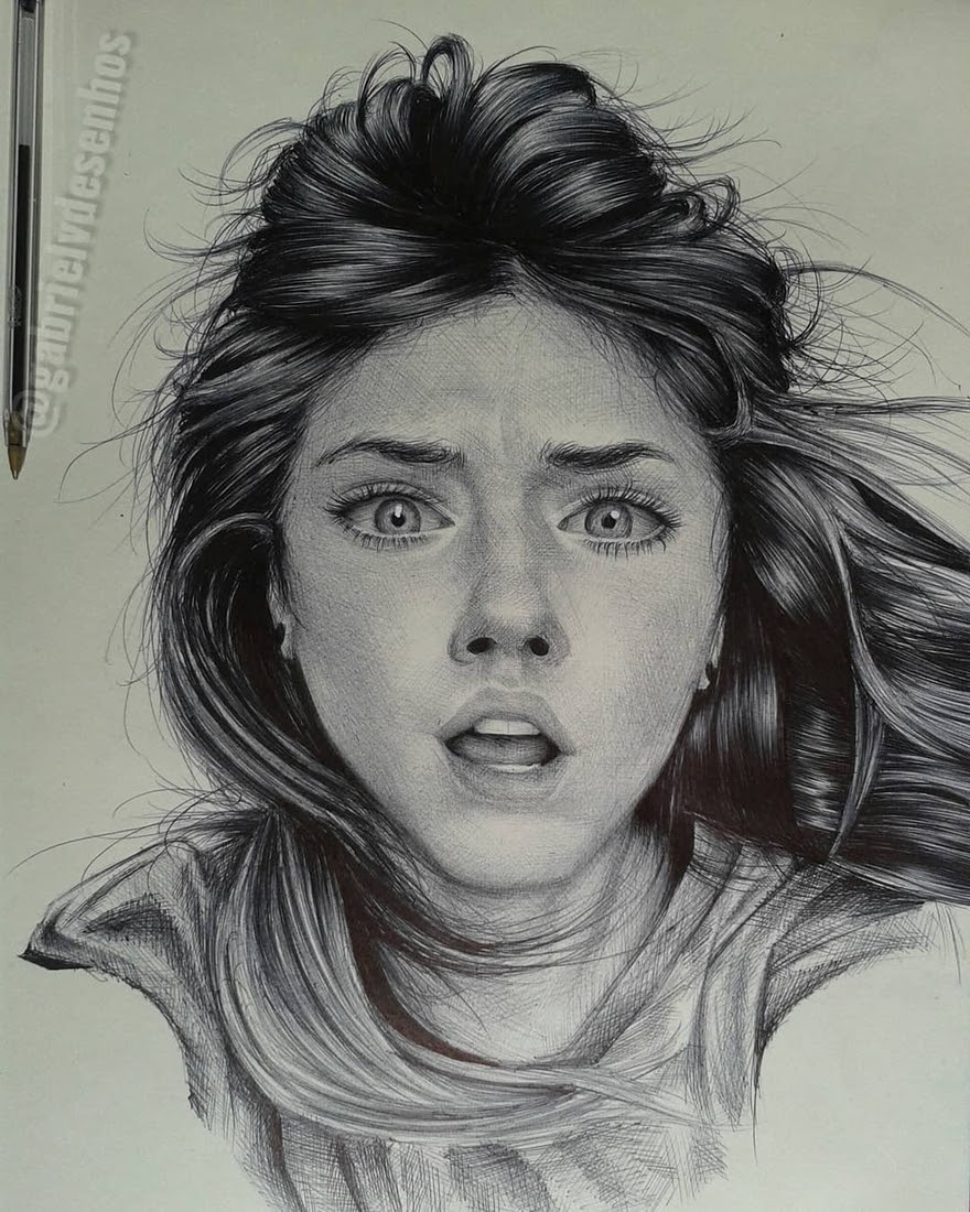 07-Gabriel-Vinícius-Black-and-White-Realistic-Ballpoint-Pen-Drawings-www-designstack-co