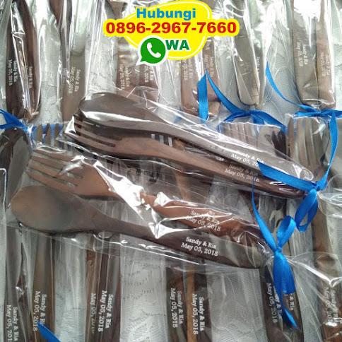 toko souvenir pernikahan sendok garpu murah 52801