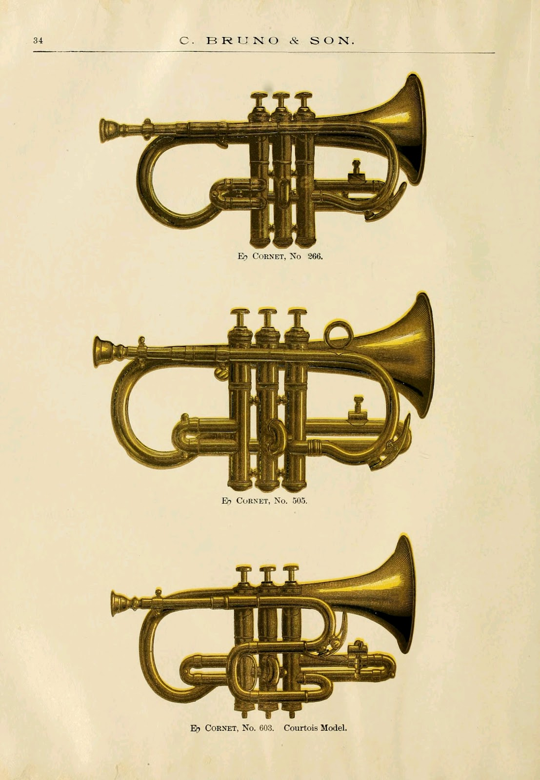 Fab Brass Instrument Pictures