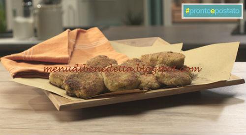 Pronto e postato - Crab cake ricetta Benedetta Parodi