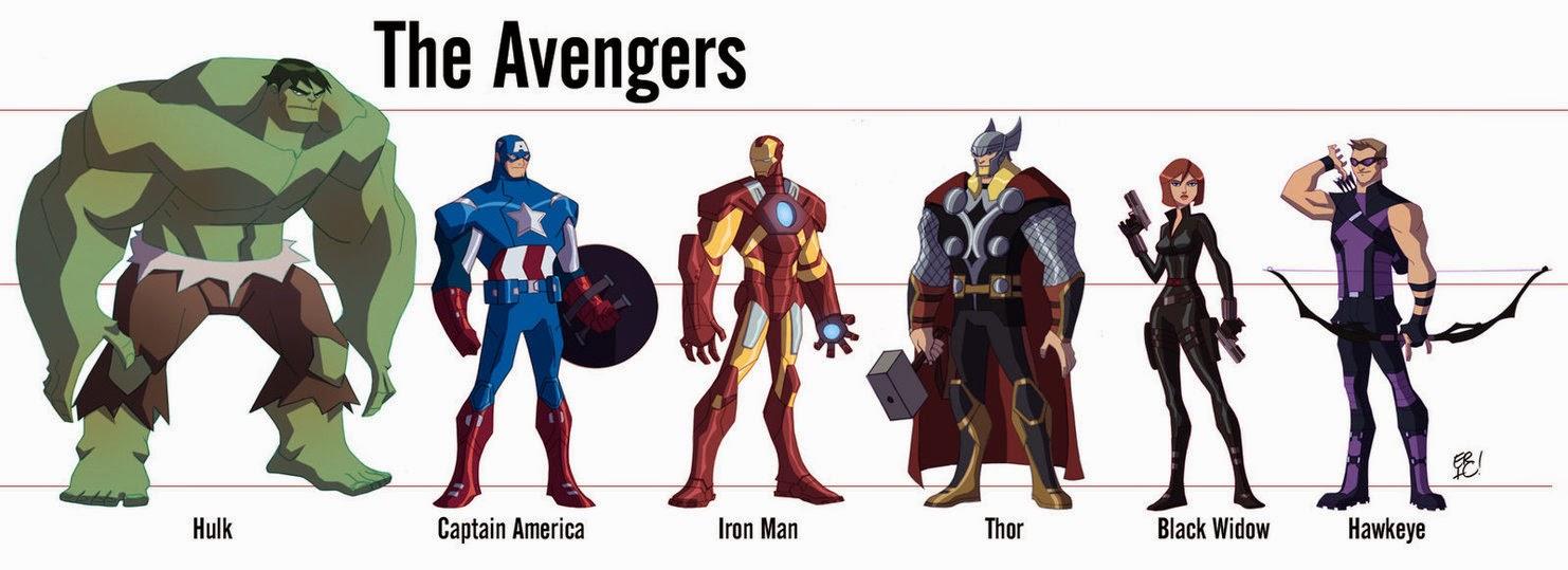 Kumpulan Gambar The Avengers | Gambar Lucu Terbaru Cartoon ...
