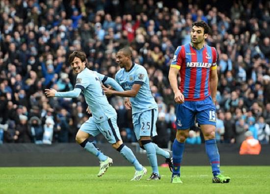 Cầu thủ của Man xanh thể hiện chưa tốt trong trận đấu