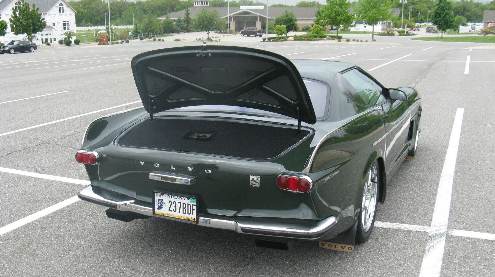 Volvette Is A Corvette With A Volvo P Body