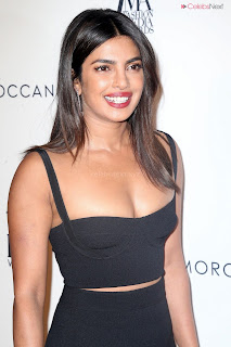 Priyanka Choppra in lovely deep Neck Sleeveless Dress in NYC   .xyz Exclusive 006.jpg