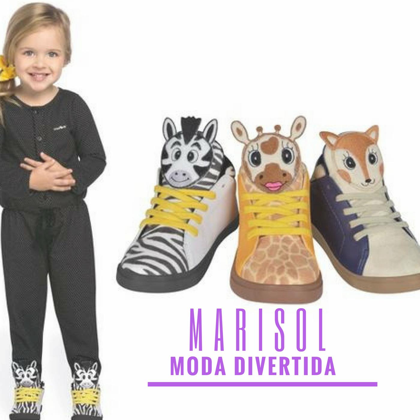 dbbc3aafa Bichinhos da floresta vão invadir o guarda-roupa das crianças na próxima  estação. Uma das novidades em calçados da Marisol para Outono/Inverno são  os tênis ...