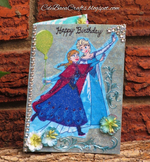 Frozen Happy Birthday_CdeBacaCraftsCard