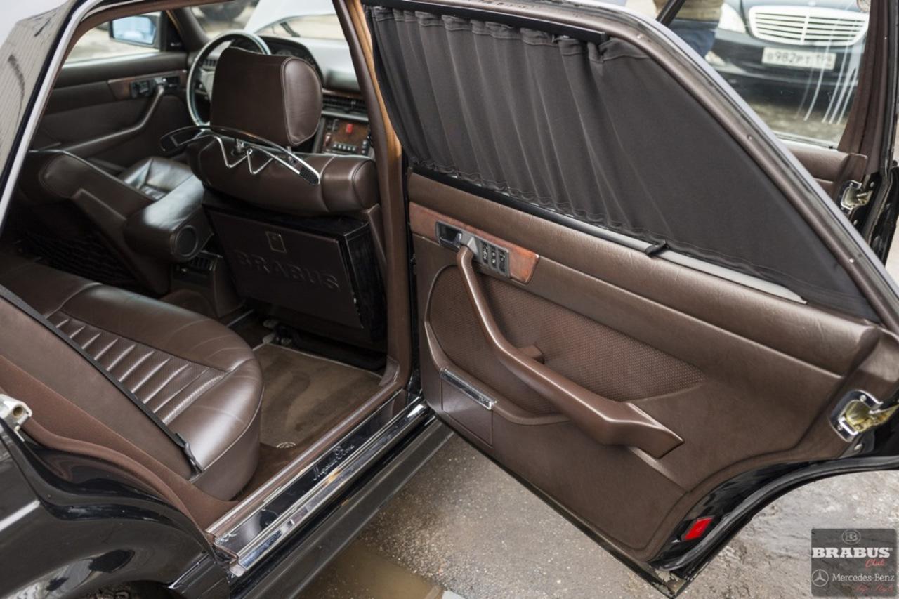 Mercedes W Sel Brabus on Mercedes Benz 190e 2 6