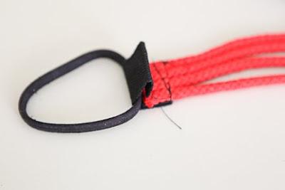 Denizci Düğümü İle Saç Bandı Yapımı 20