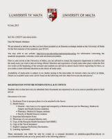 Cara Mendapatkan LoA ( Letter of Acceptance )