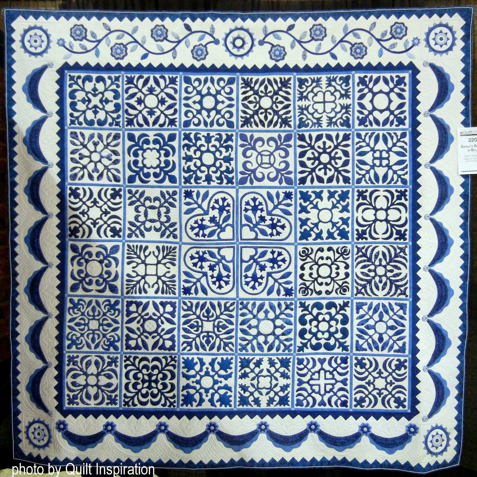 Quilt Inspiration Two Color Quilts Blue And White